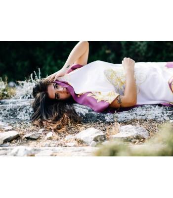 Emmanuelle Silk Scarf 15